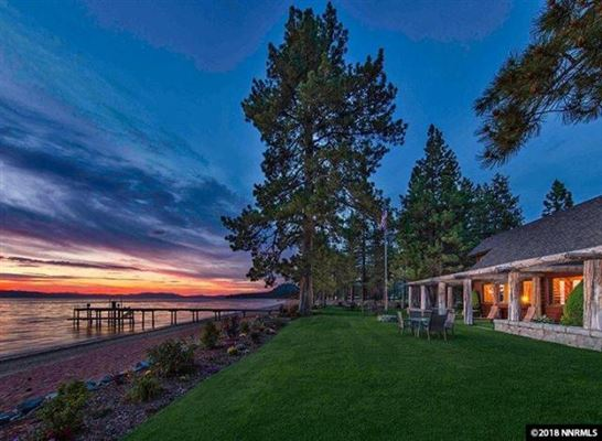 Luxury real estate private gated Clear Creek Tahoe community