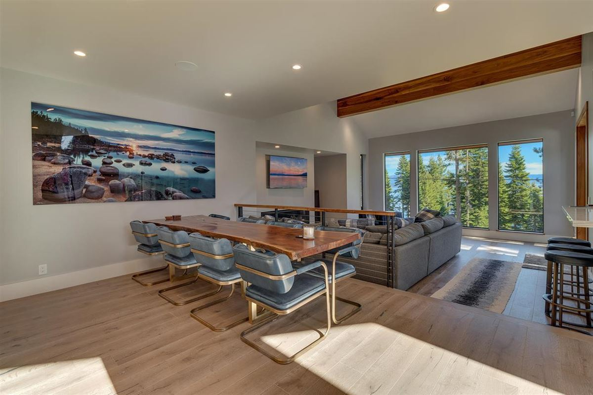Luxury homes lake view eight-acre property