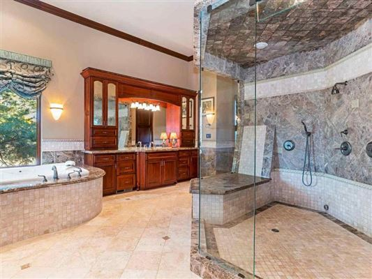 Luxury homes home on two acres in exclusive gated community