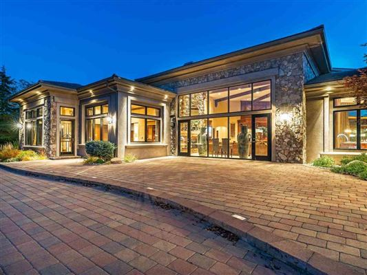 home on two acres in exclusive gated community luxury properties