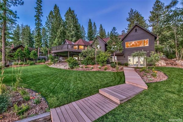 Luxury properties Lakefront Estate on the Nevada Side of Lake Tahoe