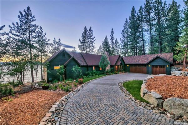 Lakefront Estate on the Nevada Side of Lake Tahoe mansions