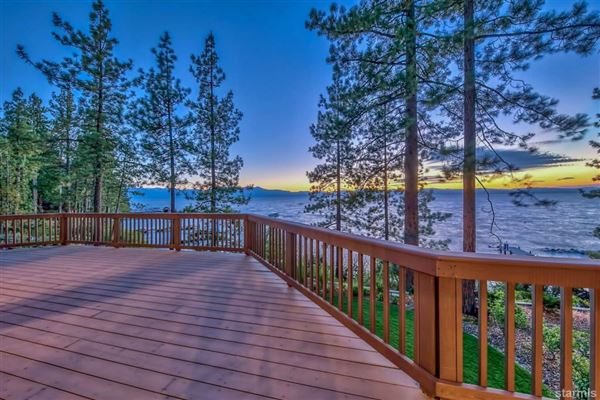 Luxury real estate Lakefront Estate on the Nevada Side of Lake Tahoe