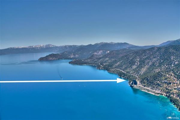 Mansions Lakefront Estate on the Nevada Side of Lake Tahoe