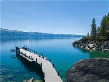 Mansions in Lake Tahoe's newest, highest-level construction is offered for sale