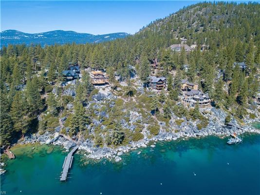 Lake Tahoe's newest, highest-level construction is offered for sale luxury properties