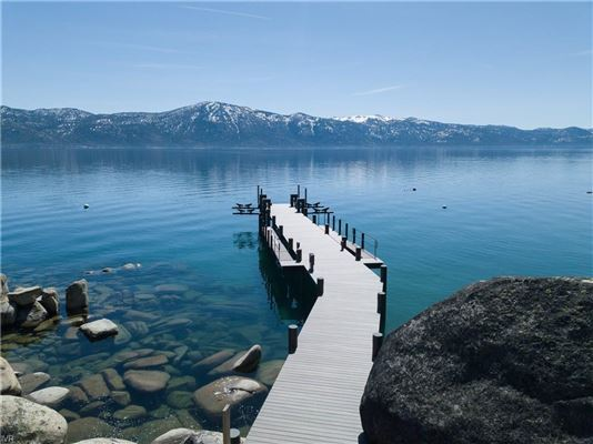 Mansions Lake Tahoe's newest, highest-level construction is offered for sale