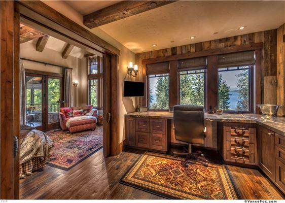 Luxury real estate Tahoe Rustic Luxury in prestigious location