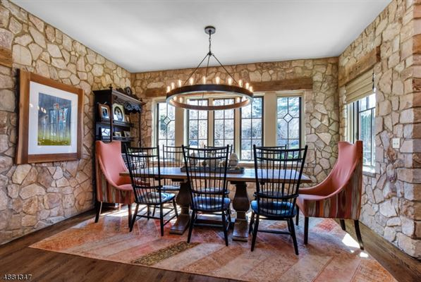 Luxury real estate Stunning Stone Colonial