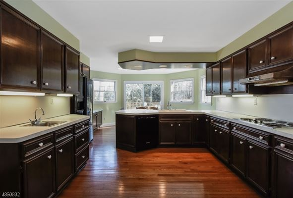 Luxury properties brick front Colonial style home