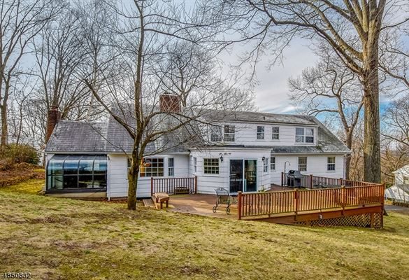 brick front Colonial style home luxury real estate