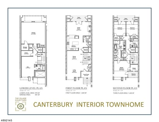 luxury Townhomes at The Village Courtyard luxury real estate