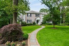 Commanding brick front Colonial mansions