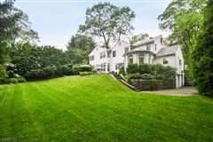 Luxury real estate Commanding brick front Colonial