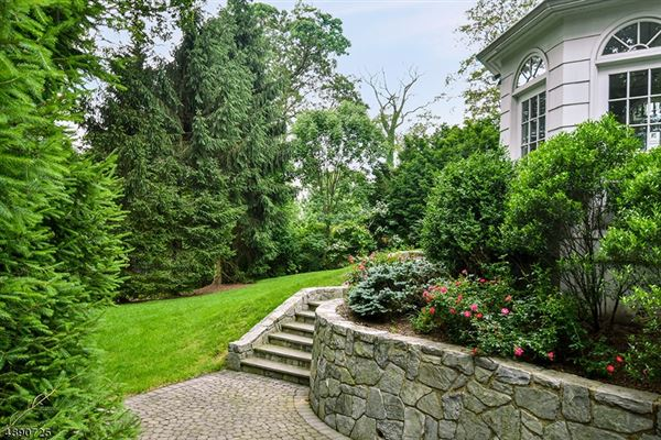 Mansions Commanding brick front Colonial