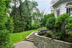 Commanding brick front Colonial luxury real estate