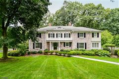 six bedroom Colonial home mansions