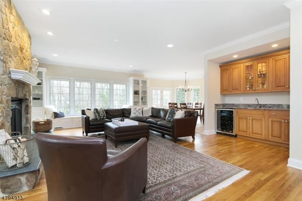 Luxury real estate Stunning custom Colonial on lovely private acres