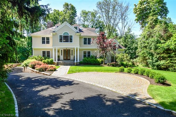 Mansions Stunning custom Colonial on lovely private acres