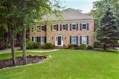 Spacious brick front Colonial mansions