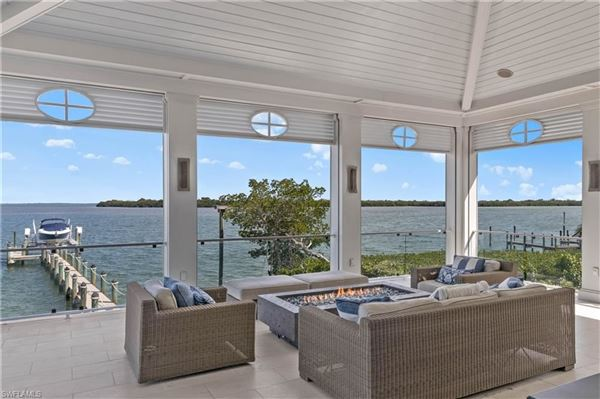 Luxury homes in Impressive home with panoramic bay views
