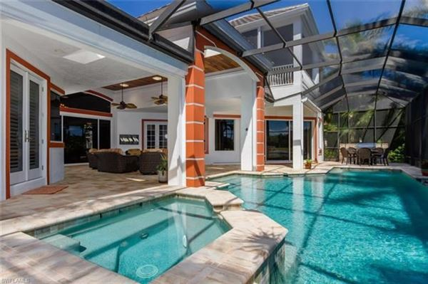 Luxury real estate showcase lakefront home