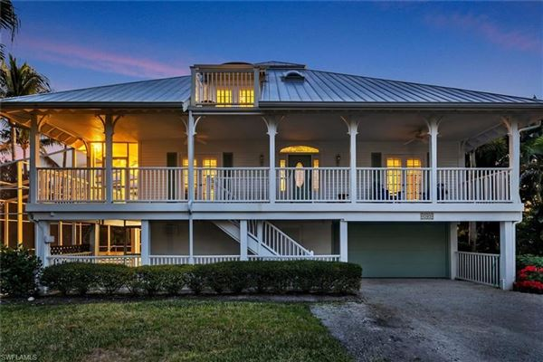 Luxury real estate Finely appointed Olde Florida Style home
