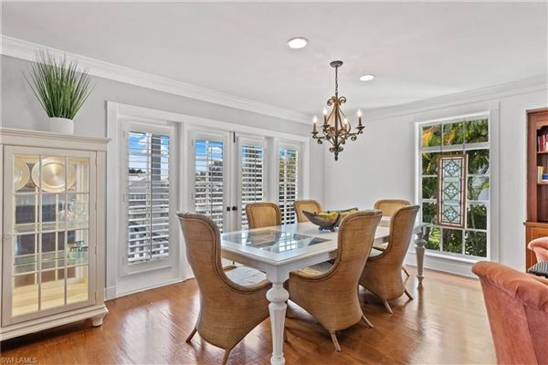 Finely appointed Olde Florida Style home luxury real estate