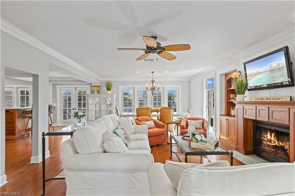 Finely appointed Olde Florida Style home luxury homes