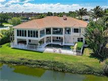 Luxury real estate custom home across the street from the beach offers incredible views
