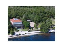 Luxury real estate oversize bayfront lot