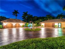 ultimate in privacy in Incredible Riverfront Enclave mansions