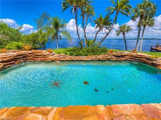 Luxury properties ultimate in privacy in Incredible Riverfront Enclave