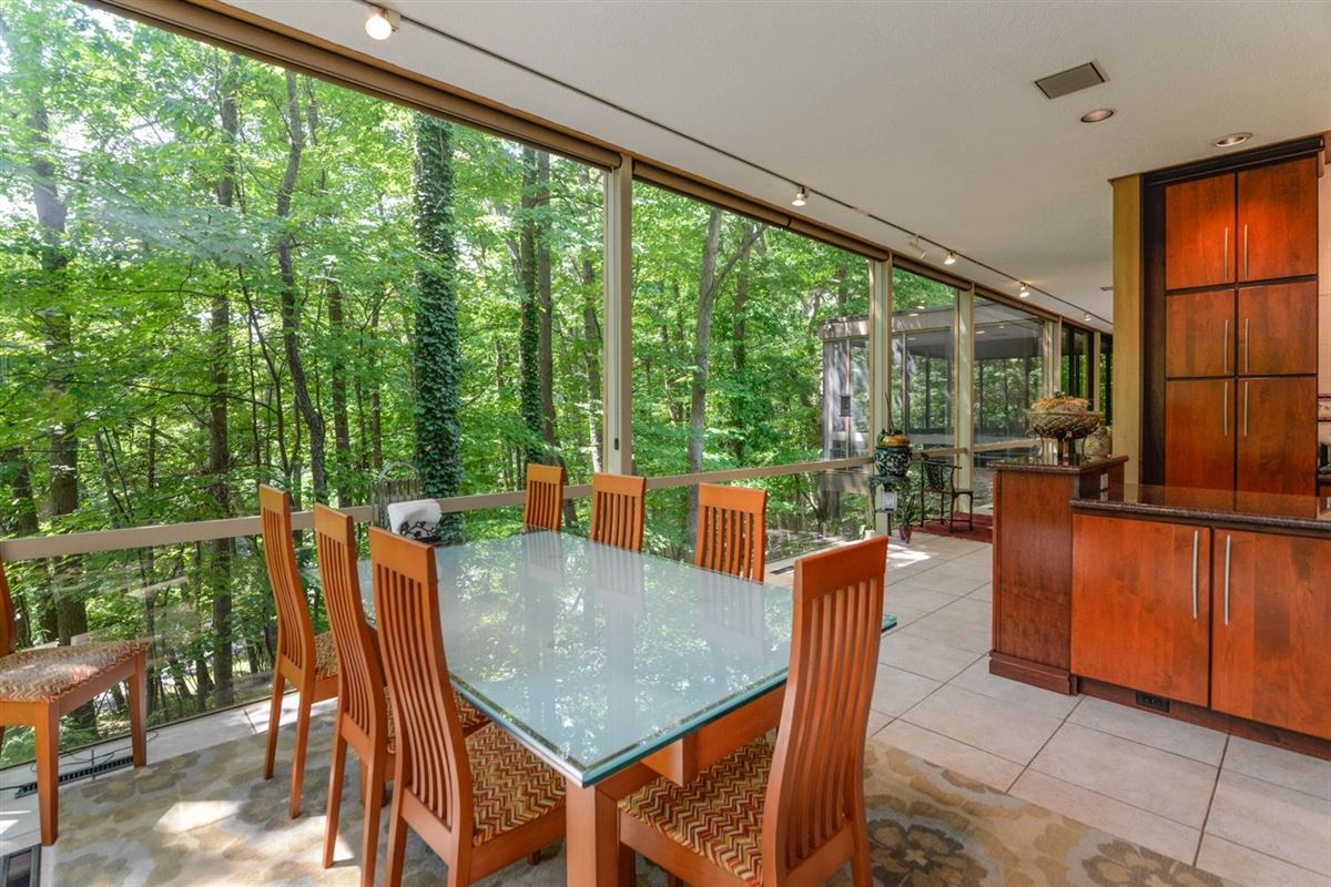 wooded lot in the heart of Barton Hills mansions