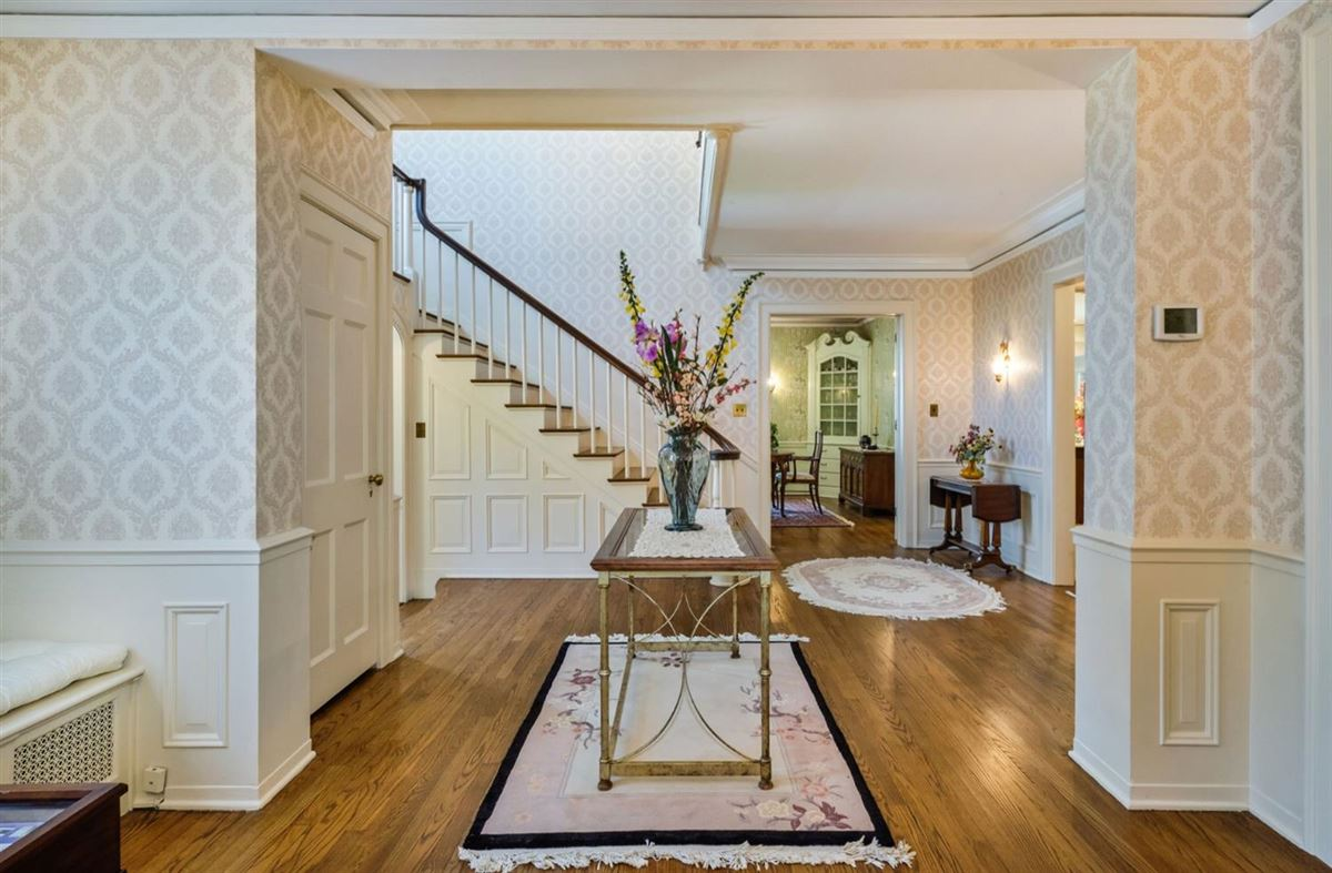 a stunning brick colonial luxury properties