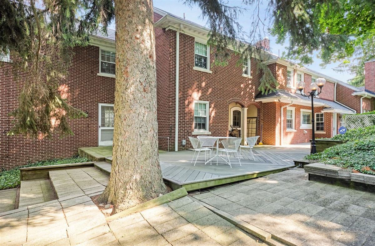 a stunning brick colonial luxury real estate