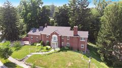 a stunning brick colonial mansions