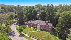 Mansions in a stunning brick colonial