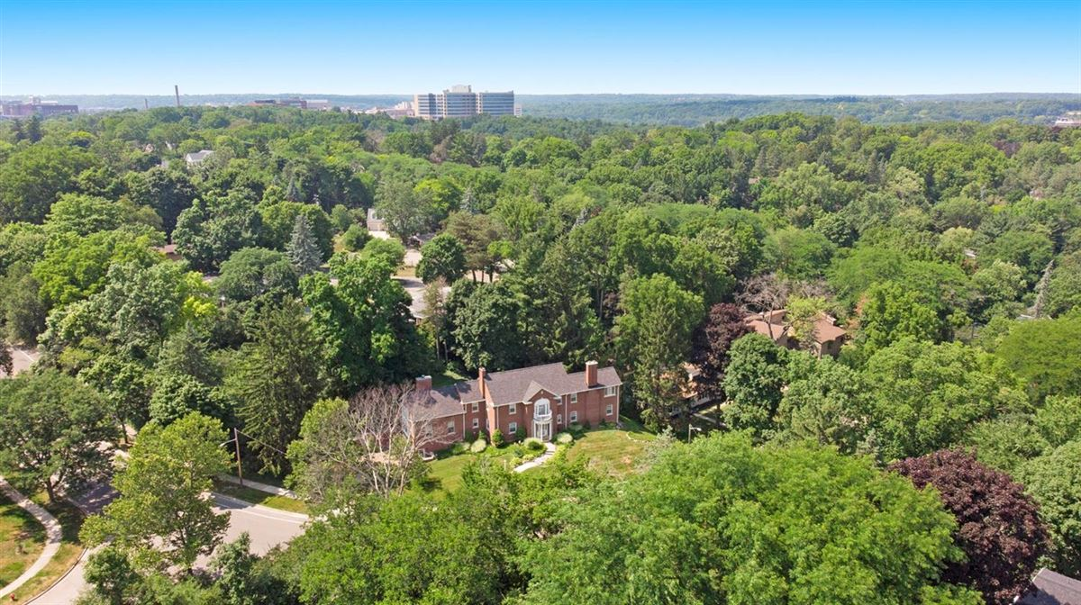 Luxury homes in a stunning brick colonial