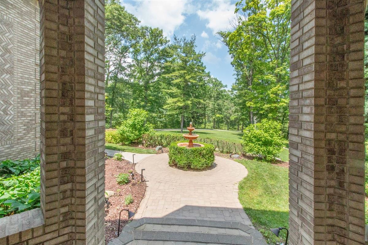 Luxury real estate All-brick gated Estate Home