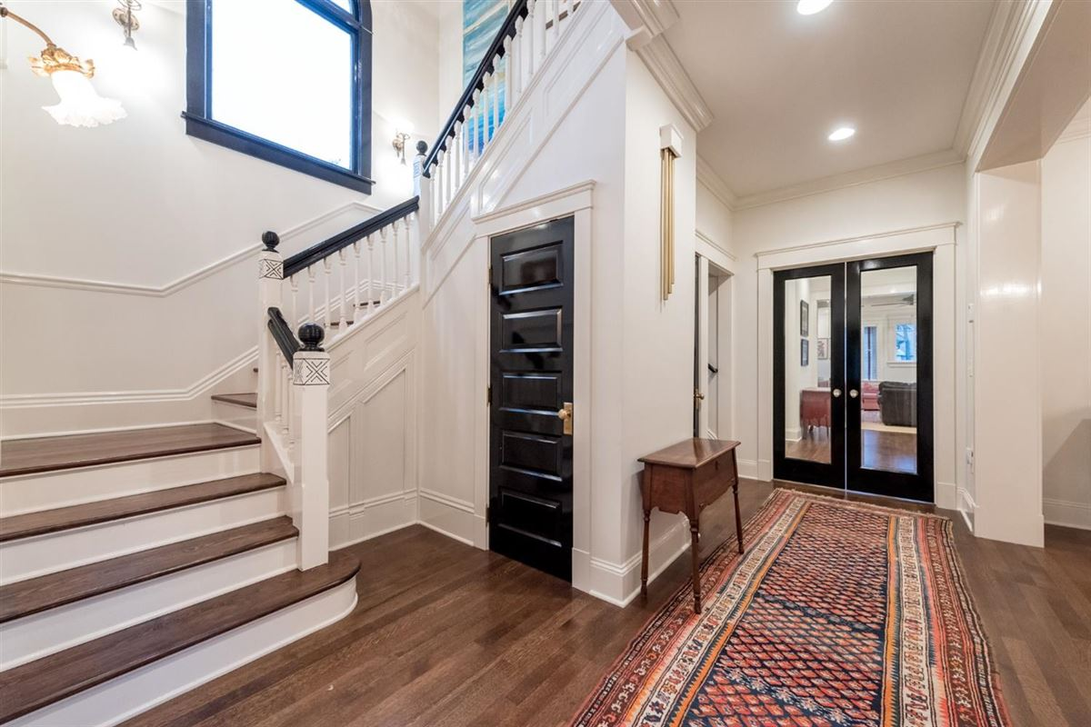 Luxury homes in renovated and updated 1894 Queen Anne Victorian