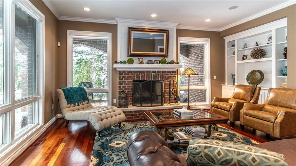 STUNNING ALL BRICK TUDOR HOME | Michigan Luxury Homes