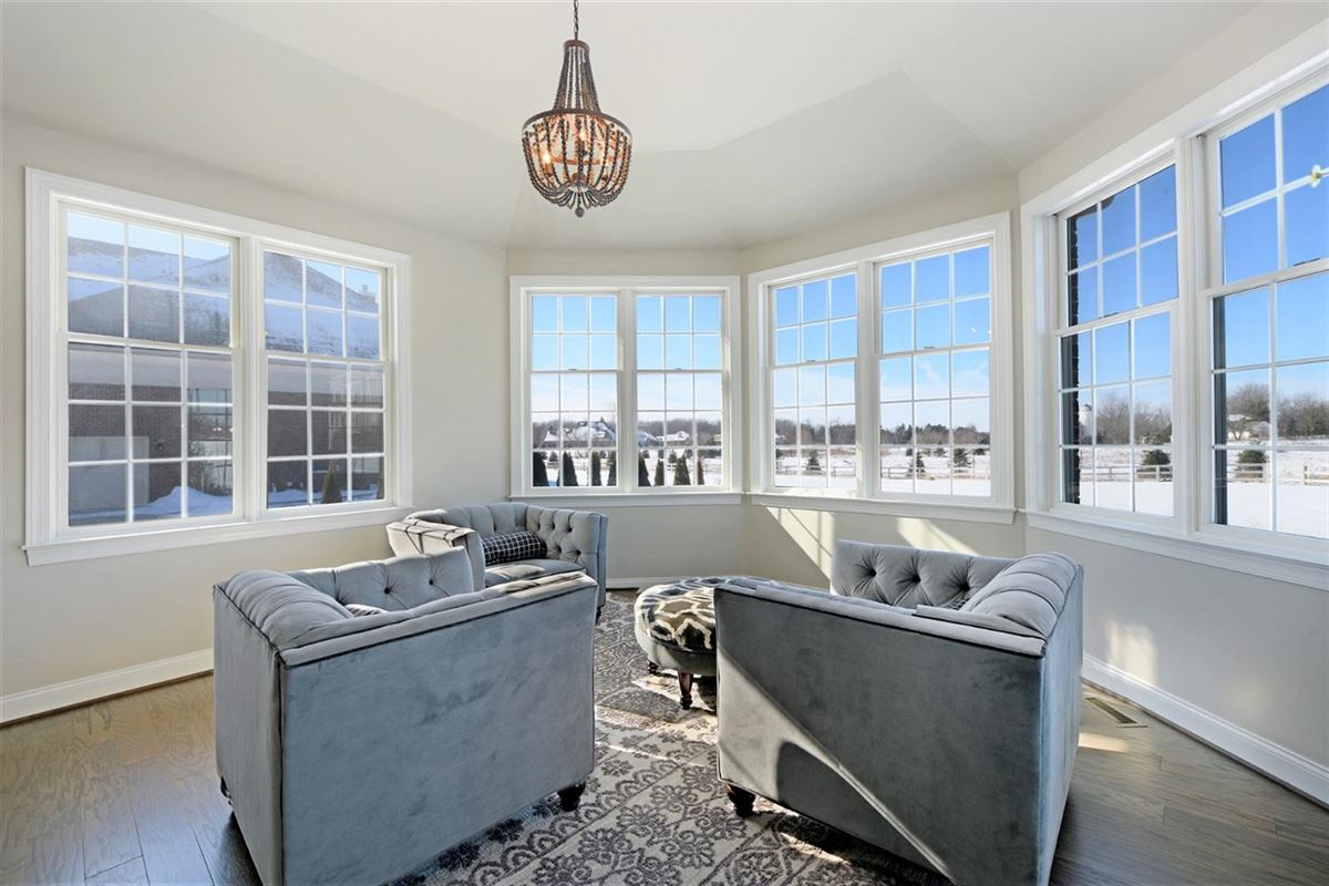Mansions in light-filled home loaded with upgrades