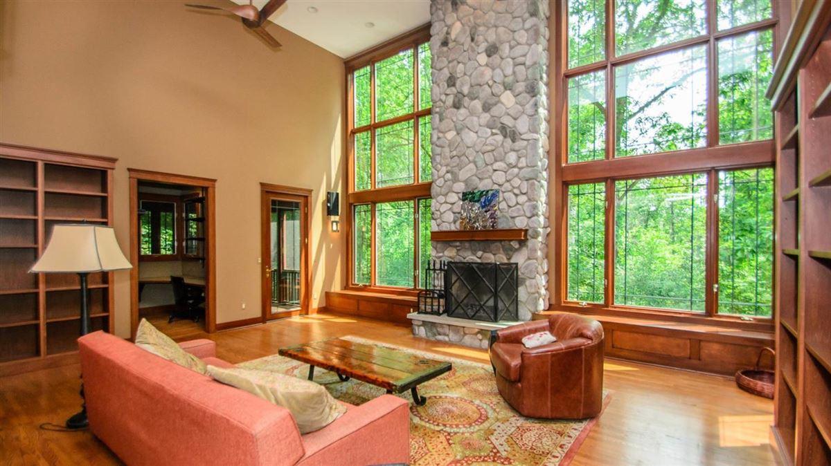 Captivating custom shingle home luxury real estate