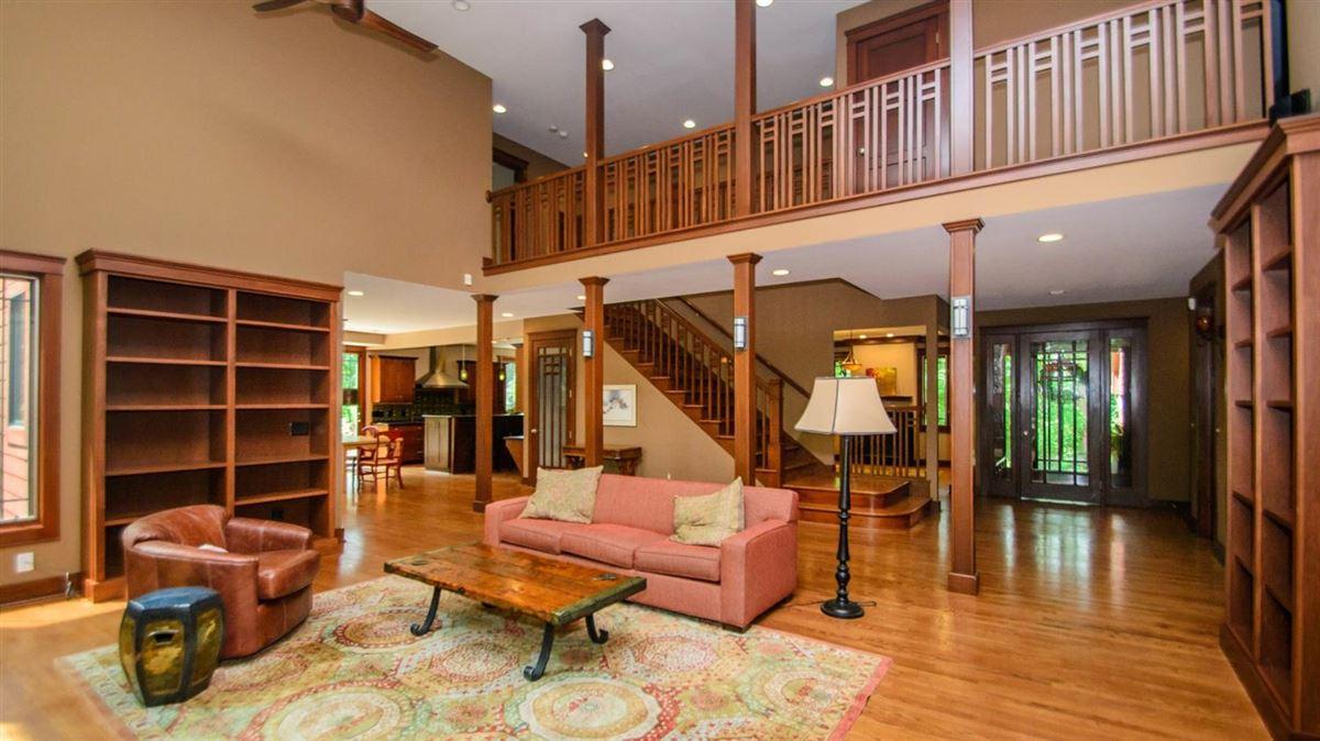 Luxury properties Captivating custom shingle home