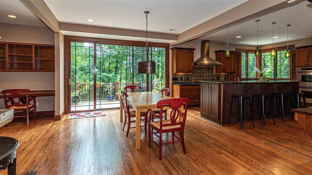 Captivating custom shingle home mansions