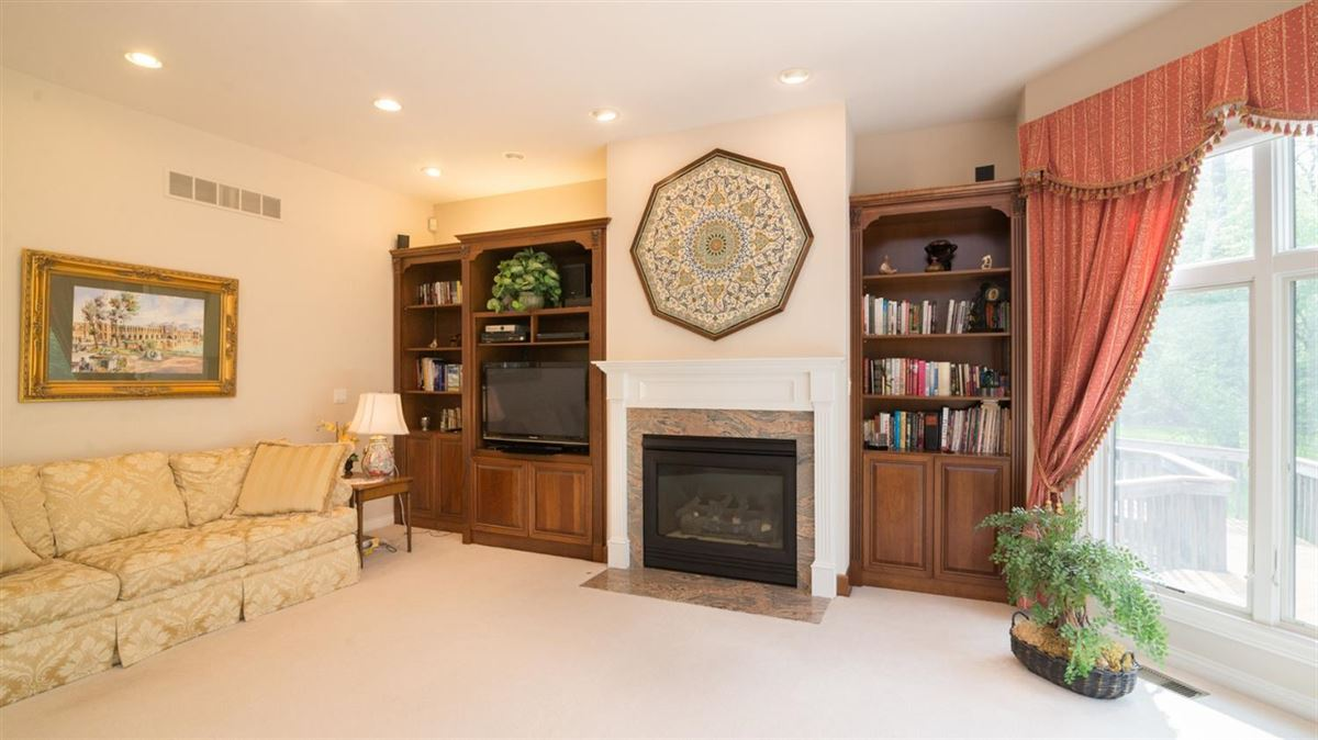 Luxury real estate a stunning executive brick home