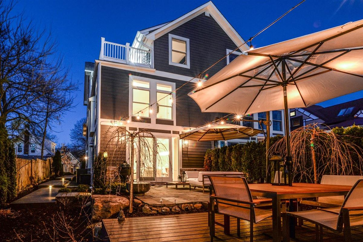 Luxury real estate well-appointed urban home in the heart of Kerrytown
