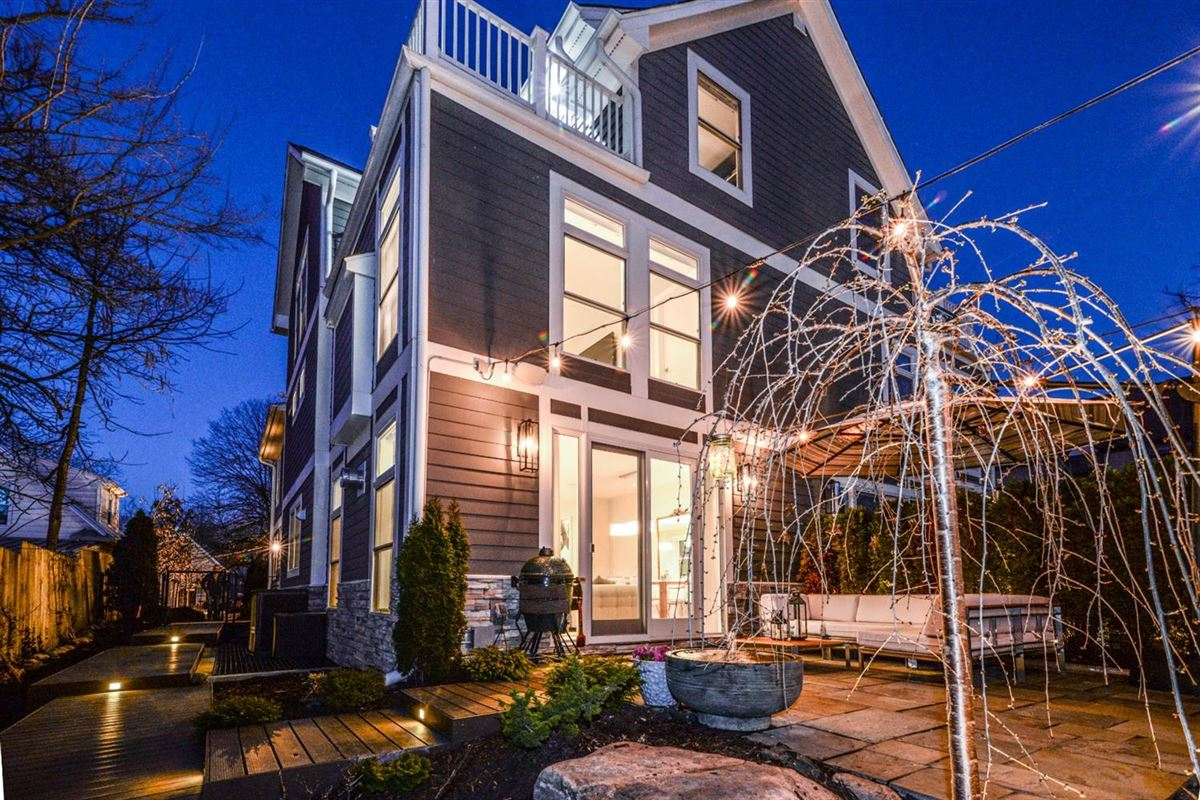 well-appointed urban home in the heart of Kerrytown luxury real estate