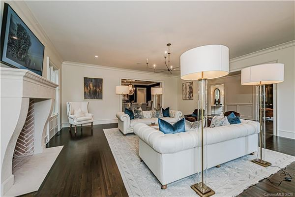 One of the nicest remodels and additions in Charlotte luxury properties